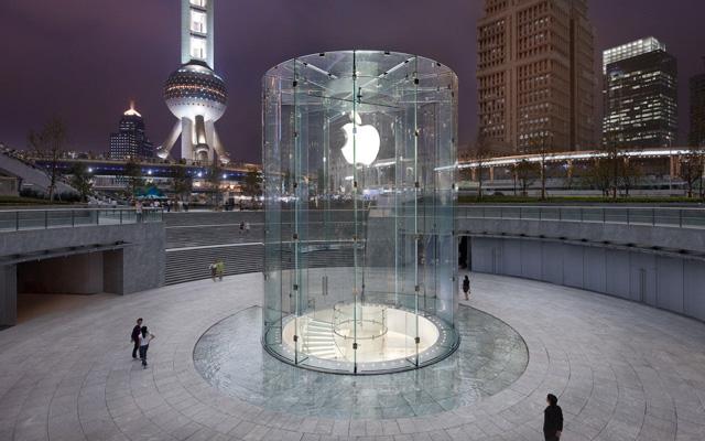 Shanhai Apple Store 01