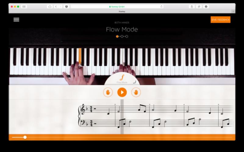 Flowkey-ն օնլայն կսովորեցնի դաշնամուր նվագել