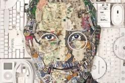 Սթիվ Ջոբսի դիմանկարը՝ պատրաստված էլեկտրոնային աղբից
