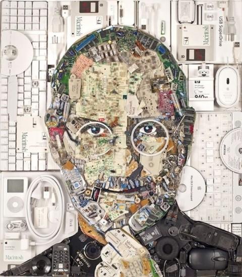 Steve Jobs from waste