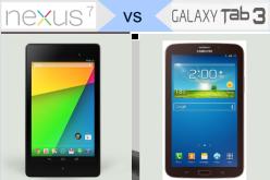 Nexus 7-ն ընդդեմ Galaxy Tab 3 7.0-ի (համեմատություն)