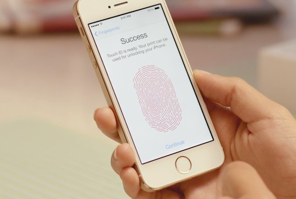 Touch-ID-success