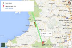 Google Maps-ն առաջարկում է շրջագայել Ուելսով վիշապի վրա նստած
