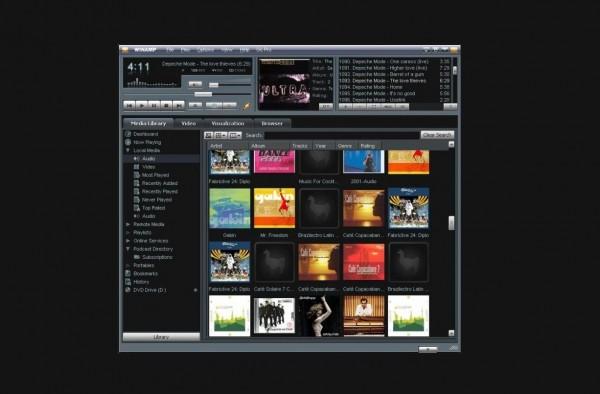Winamp interface