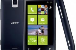 Acer-ը կվերսկսի Windows Phone ՕՀ-ով սմարթֆոնների արտադրությունը