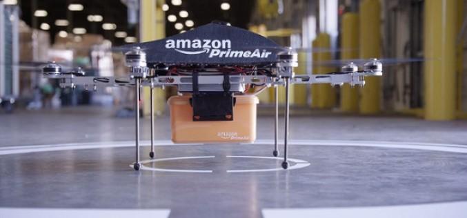 Amazon-ը շարունակում է դրոններով առաքման ծառայության փորձարկումները