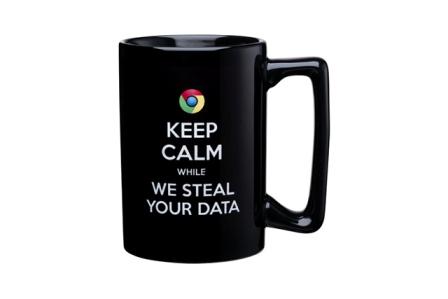 anti Google mug
