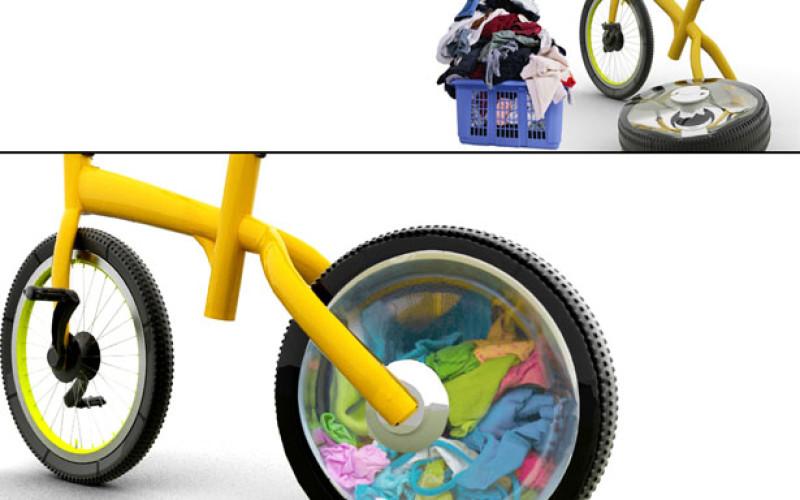 Կոնցեպտ. հեծանիվ, որը նաև լվացքի մեքենա է (նկարներ)