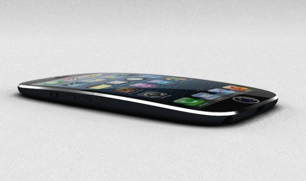curved iphone