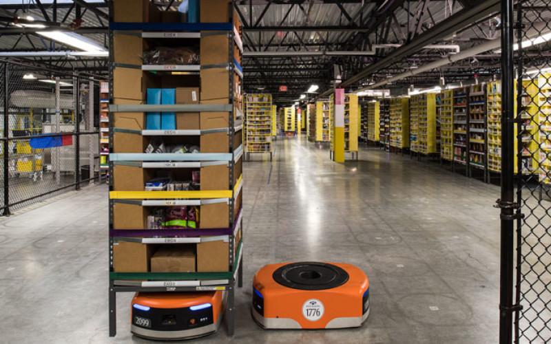 Amazon-ի պահեստներում 15.000 ռոբոտ պատրաստ «սպասում» է Ամանորի եռուզեռին (տեսանյութ)