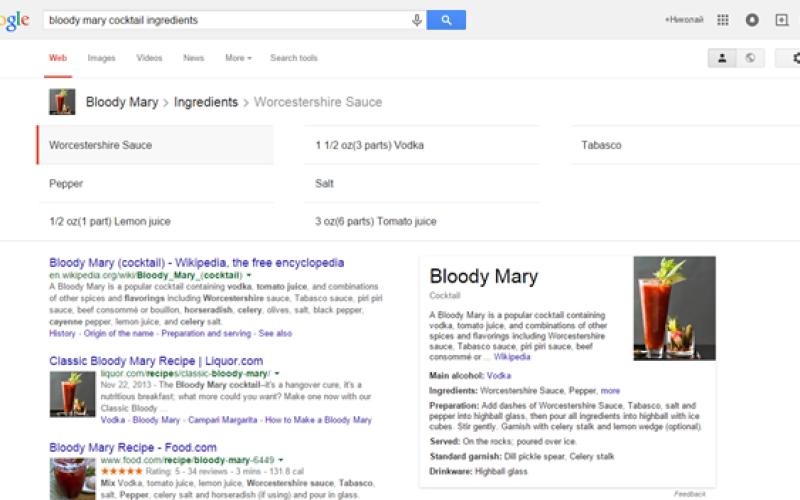 Google-ը սովորել է հուշել կոկտեյլների բաղադրատոմսեր