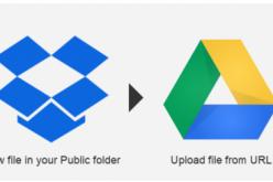 Ինչպես ստեղծել Dropbox-ի պահեստային պատճենը Google Drive-ում