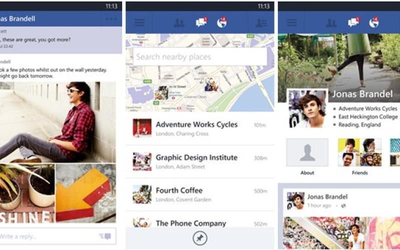 Թողարկվել է Facebook-ի Windows Phone տարբերակի նոր թարմացումը