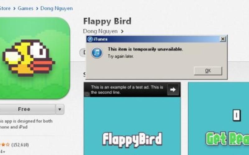 Ճանաչված Flappy Bird խաղը հեռացվել է օնլայն խանութներից