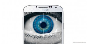 galaxy s5 eye scanner