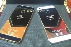 Ոսկեպատ iPhone 5 (ֆոտոշարք)