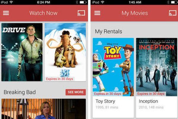 google play movie app