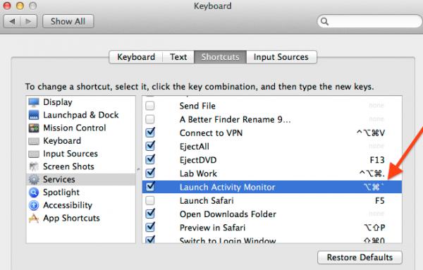 hot keys OS X -02