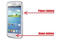 Ինչպես ստանալ սքրինշոթ Android սմարթֆոնի էկրանից