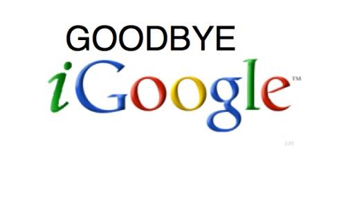 iGoogle shutdown