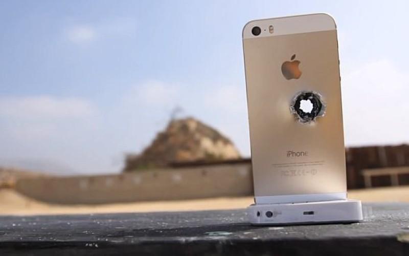 iPhone 5S-ն ընդդեմ կրակի և հրացանի (վիդեո-փորձարկում)
