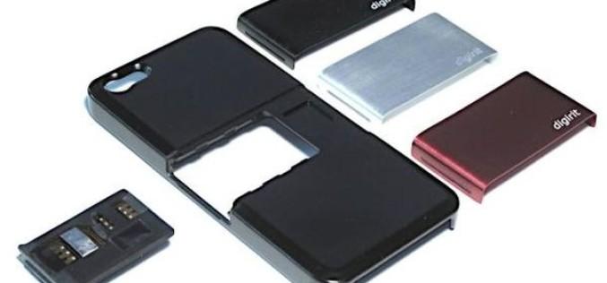 Digirit SIM+` iPhone 5-ը 2 SIM-քարտանի դարձնող պատյան