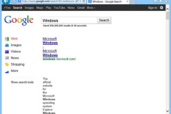 IE11-ի նոր տարբերակը սխալ է ցուցադրում Google-ի կայքերը