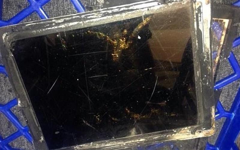 Նոր iPad Air-ը ինքնահրկիզվել է խանութում