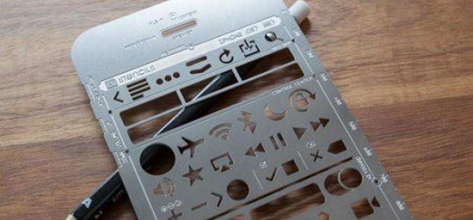 iPhone Stencil Kit՝ գործիք դիզայներների համար
