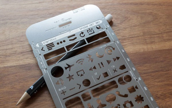 iphone-stencil kit