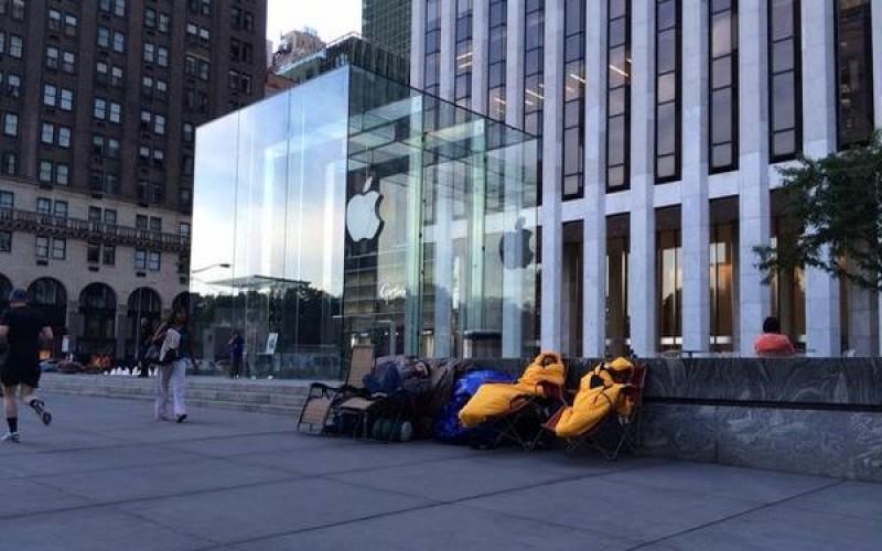 Նյու Յորքում արդեն գոյանում են iPhone 6-ի հերթեր