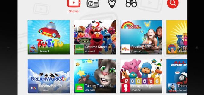Google-ը թողարկել է երեխաների համար նախատեսված YouTube