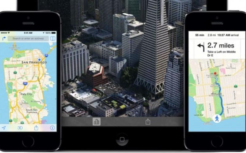 Apple-ի «Քարտեզները» հասանելի կլինեն iOS 8-ում