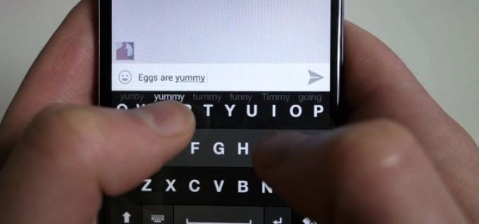 Ինչպես տեքստ մուտքագրել սմարթֆոնի վրա՝ առանց ստեղնաշարին նայելու