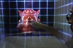 MisTable՝ ինտերակտիվ սեղան մառախուղով էկրանից (վիդեո)