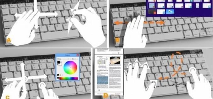 Microsoft-ը նախագծել է ժեստեր ճանաչող ստեղնաշար (վիդեո)