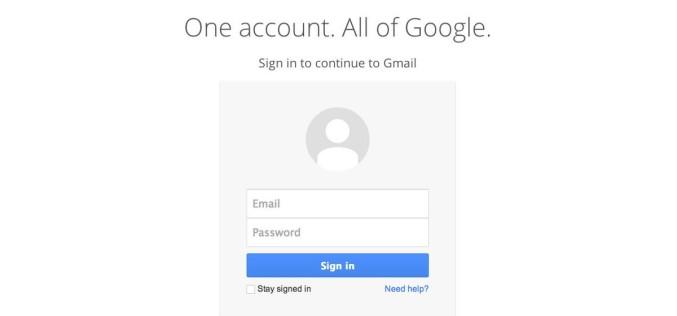 Gmail-ը փոխել է իր առաջին էջի ինտերֆեյսը
