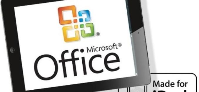 Microsoft Office-ի iPad տարբերակը դարձել է թոփ հավելված App Store-ում