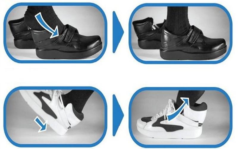 Կոնցեպտ. կոշիկ, որը կարելի է հագնել առանց ձեռքերի օգնության (վիդեո)
