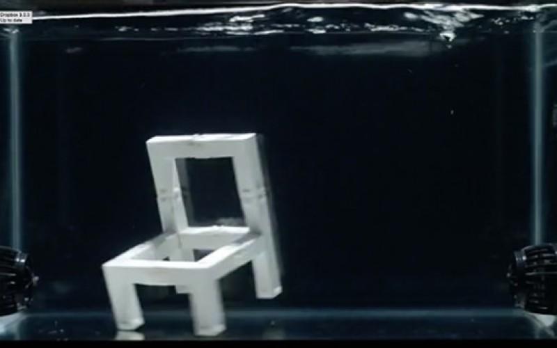 Աթոռ, որն ինքն իրեն հավաքվում է (տեսանյութ)