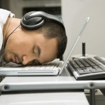 sleeping on keyboard