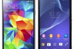 Դրոշակակիր մրցակիցներ Galaxy S5 և Xperia Z2 (համեմատություն)