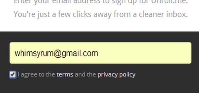 Unroll.me` ազատվեք ոչ պետքական նամակներից