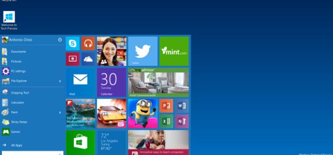 Windows 10-ն անվճար կլինի անհատական օգտագործողների համար