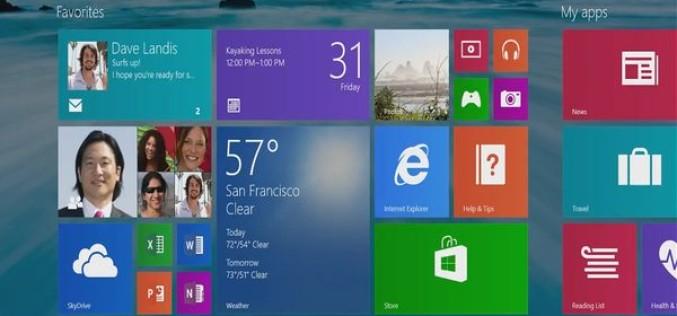 Windows 8.1-ի թարմացումը կմիավորի Metro ու Desktop ինտերֆեյսները